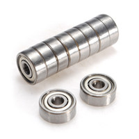 Wholesale New Durable x13x5mm Shielded Miniature Metal Sealed Metric Radial Ball Bearing ZZ