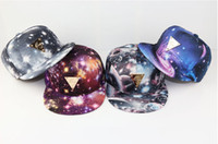 Ball Cap Woman Spring & Fall woman Hater snapback hat galaxy star sky baseball cap dream bone gorras Space Pattern Print Snapback Unisex Hip Hop Peak Hats casquette