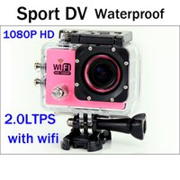 Wholesale SJ6000 WIFI Waterproof Sport Camera Inch P HD MP Car DVR Camera Recorder Diving Bicycle Action Camera Helmet DV Mini DVR