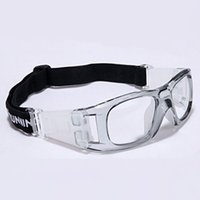 Framed basketball safety goggles - Wrap Around Basketball Sport Goggles For Men Clear PC Lens Eye Protection Soccer Safety Glasses Eyewear For Men Clearance