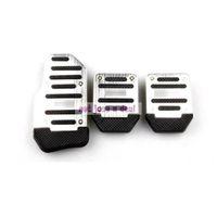 Wholesale Aluminium Alloy Non slip Car Auto Vehicle Accelerator Brake Foot Pedal Cover Pad