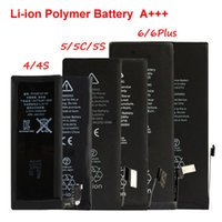 Wholesale A Quality Li ion Polymer Replacement Battery For iphone S S C G G Plus mAh mAh mAh mAh mAh mAh