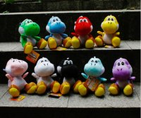 mario plush - New High Quality Best Sellers Soft Plush inch cm Super Mario Yoshi Stuffed Toy Figures Anime