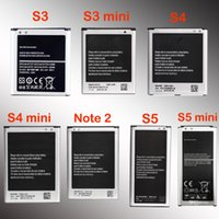 Wholesale High quality battery for Samsung Galaxy S3 S3 mini S4 S4 mini S5 S5 mini note S6 S6 edge