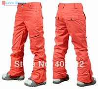 Wholesale Newest High Quality Original Reliable Brand GSOU P Waterproof Breathable Ski Skiing Pant for Women