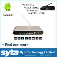 air solution - 2015 new product and best sale Android T2 AML8726 MX solution Dual Core DLNA AIR PLAY XBMC supporting