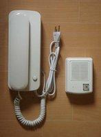 Wholesale 2015 New wired audio door phone intercom system unlock function