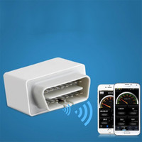 Wholesale NEW OBD2 WIFI Car Diagnostic Scanner adapter code reader scan tool for iOS Android Phone White hot selling