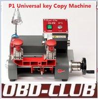 universal milling machine - 2016 Newest P1 Vertical milling machine Universal key copy machine For Locksmith any key Better than Slica Key Cutting Machine