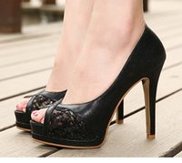 Wholesale 2015 designer shoes nightclub fine with high heels spring summer autumn fish mouth shoes net yarn