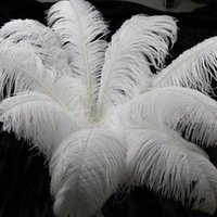 Wholesale Large Ostrich Feathers quot cm Table Centerpieces Wedding Decorations Table Ostrich Feathers Centerpiece Event Decoration Many Size