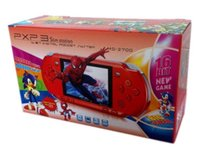 Wholesale DHL Free Ship Portable inch PXP3 bit Children Color Screen Handheld Game Consoles Gaming Players