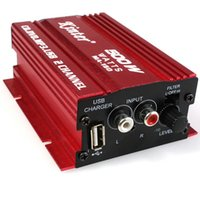automotive amplifiers - car Automotive Electronics V Power Amplifier Subwoofer USB DVD Hi Fi Digital Stereo Channel For Auto Motorcycle Boat MA