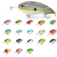 trap - Fishing Lure Body Lipless Trap Crankbait Hard Bait mix color Fresh Water Sinking Bass Walleye Crappie Minnow Fishing Tackle