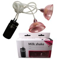 Wholesale Sex Toys Breast Pump Cups - Rogge Vacuum Suction Cup Breast Massage 10 Speed Breast Massager Nipple Vibrator Electric Breast Pump Sex Toy Sex Products A5