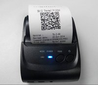 apple wireless printer - 58mm Portable Bluetooth Wireless Receipt Thermal Printer For Apple Android