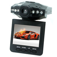 Wholesale 2 Car Dash cams Car DVR recorder camera system black box H198 night version Video Recorder dash Camera IR LED