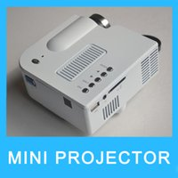 Wholesale UC28 Mini LED Projector Projectors Cinema Home Theater Support HDMI VGA SD Card AV IN USB