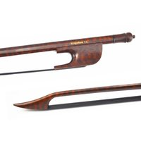 baroque violin bow - Black Horse Hair Snakewood Baroque Violin Bow Wild Sound Easier Controal VB