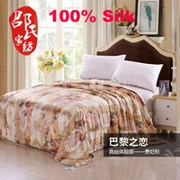 Wholesale BS111 High quality Silk Comforter Quilt Blanket Comforter Doona Duvet Bedding Sets Winter Comforter KG