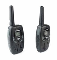 Wholesale 2pcs a pair A1026B RETEVIS RT628 Walkie Talkie W UHF Europe Frequency MHz LCD Display Portable Two Way Radio CH PMR radio A5