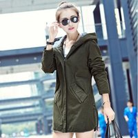 bamboo cultivation - Korean version of the new paragraph leisure self cultivation in spring and autumn long women windbreaker jacket