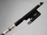 Wholesale Pro Red Wire inlay Carbon Fiber bow Double bass bow Nice Quality
