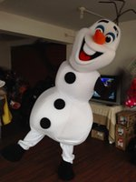 best animal costume - 2015 Hot Selling Best price New Olaf mascot costume Adult size Olaf mascot costume