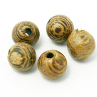 Wholesale High Quality Wooden Beads mm mm mm Round Shape Natural Wenge Wood Loose Spacer Beads for Bracelet