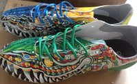 Wholesale 2015 Limited Edition Messi Soccer Shoes Mandarin duck Dragon God Beast F50 FG Yamamoto Football Boots Size