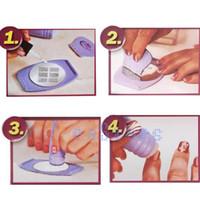 Cheap Cool Lady Professional Nail Art Stamp Polish Nail DIY Kit Nail Stamping Decals
