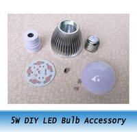 antique lamp parts - W high power LED Bulb Accessory DIY LED Lamp CASE Parts kit E27
