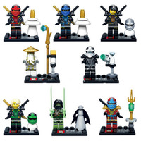 Wholesale 8PC Ninja go Assemble Minifigure Building Block Toys SY285 Kids Toy Model Bricks Toys Compatible With Legominifigure