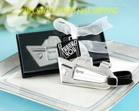 Cheap Wedding Wedding Favor Best Silver luggage tag Party Favor Party Decoration Gift