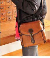 Wholesale DSLR SLR Digital Sling Camera Case British Vintage Shoulder Bag NIKON CANON SONY
