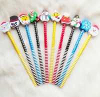 Wholesale cute cartoon series wooden pencil children pencil dandys