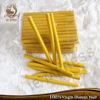 flexi rods - 2cm width Hair Curling Flexi rods Magic Air Hair Roller Curler Bendy Hair Sticks random colors