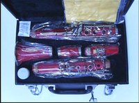 Wholesale B the clarinet clarinet instrument rose red