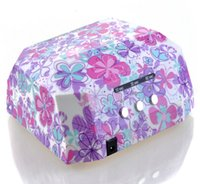 automatic light timers - W Pro CCFL LED UV Lamp Light Beauty Salon V Nail Dryer with Automatic Induction Timer Setting Nail art tool s s s