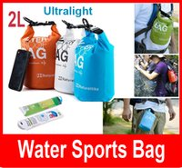 Cheap 2L Travel Outdoor Water Sports Waterproof Dry Pouch ultra Light weight Bag Portable swimming waterproof bag high quality