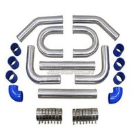 aluminum intercooler piping - 3 quot INCH ALUMINUM TURBO INTERCOOLER PIPING DEGREE PIPE KIT MAZDA
