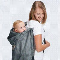 baby car rain cover - car waterproof baby backpack carrier cover baby rainproof cloak Keep the rain and wind away from your baby