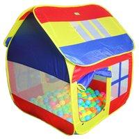 Precio de Los niños juegan-Tamaño grande 126cm alto de juguete para niños Tiendas de campaña para niños tiendas de juguetes de juguete del niño Carpa cubierta al aire libre Beach Play House