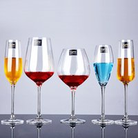 Wholesale Professional lead free crystal wine glass red wine cup champagne glass wine cup safe packing