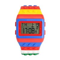 alm sports - Fashion Colorful Special Designed Multi functional CHM SPL ALM M Waterproof Digital Sports Watch