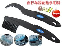 Wholesale Bicycle Bike Chain Clean Brush Cleaning Scrubber Tool Set Crankset Chain Cleaner Brushes