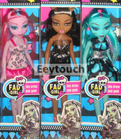 barbies dolls - Fad Girl Barbie Bobbi Baby Doll Fashion Ghost Sister Toys Popular Monster Zombie Gift Toys Vampire Voodoo dolls Plaything