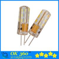 2015 nouvelle G4 Dimmable LED High Power Lampe SMD3014 3W 5W 6W 12V 7W maïs léger 220V 10W 30W Remplacer lampe halogène lampe à ampoule 360 Angle de faisceau LED