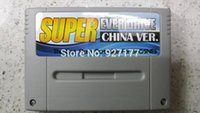 Wholesale jack diy game flash cartridge for sfc and snes grey shell
