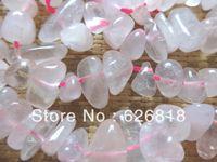 bead creations - Natural Creation Charms cm Ice Rose Quartz Crystal Stone Chip Beads Semi precious Stone Min Order